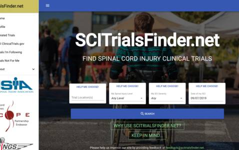 Website on clinical trials is online