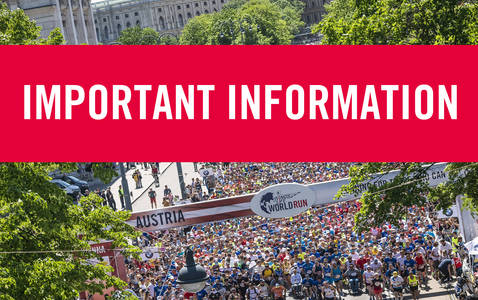 Important information for World Runner